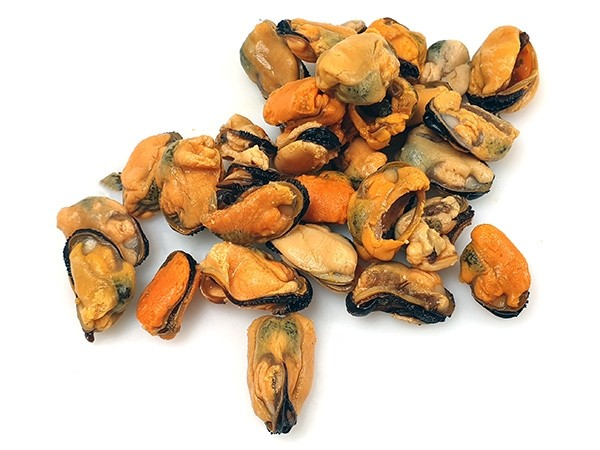 Mussel meat cooked 100/200 10 x 1 kg -CL