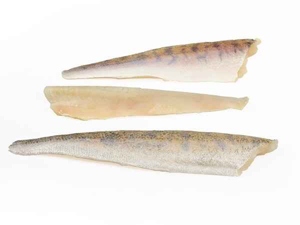 Pikeperch fillets skin on 230-300 10%  5kg- RU