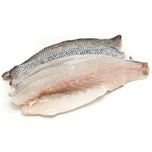 Seabass fillet skin on 80/120 gr 10 x 1 kg - 20% - TR