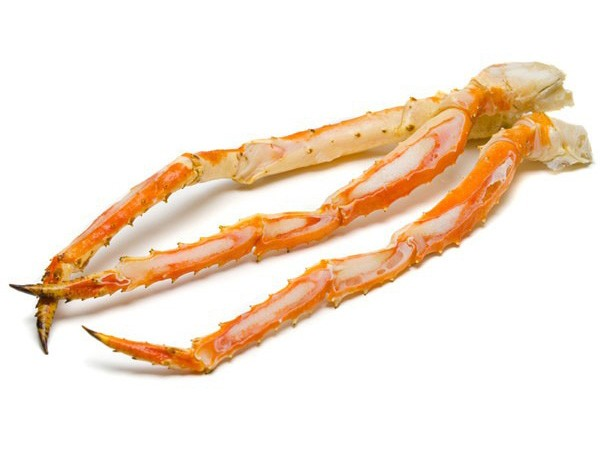 Kingcrab cooked single legs & claws L2 (600-800g) 5kg 10%-NO
