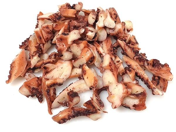 Sliced Squid Tentacles Cooked 6 x 1kg 20% -ES