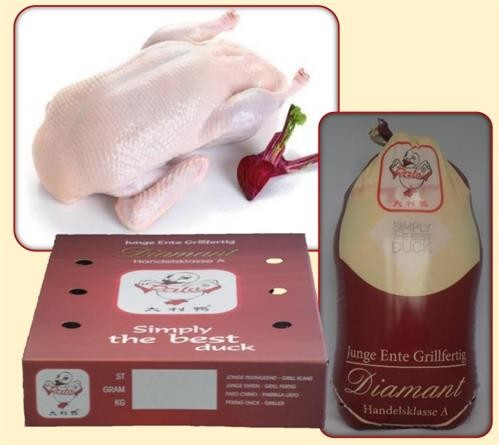 Drosed Duck Griller Without Organs 6 x 2800 grs -PL