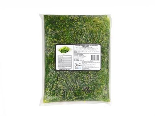 Wakame Seeweedsalad marinated Vacuum 12 x 1000g-TW