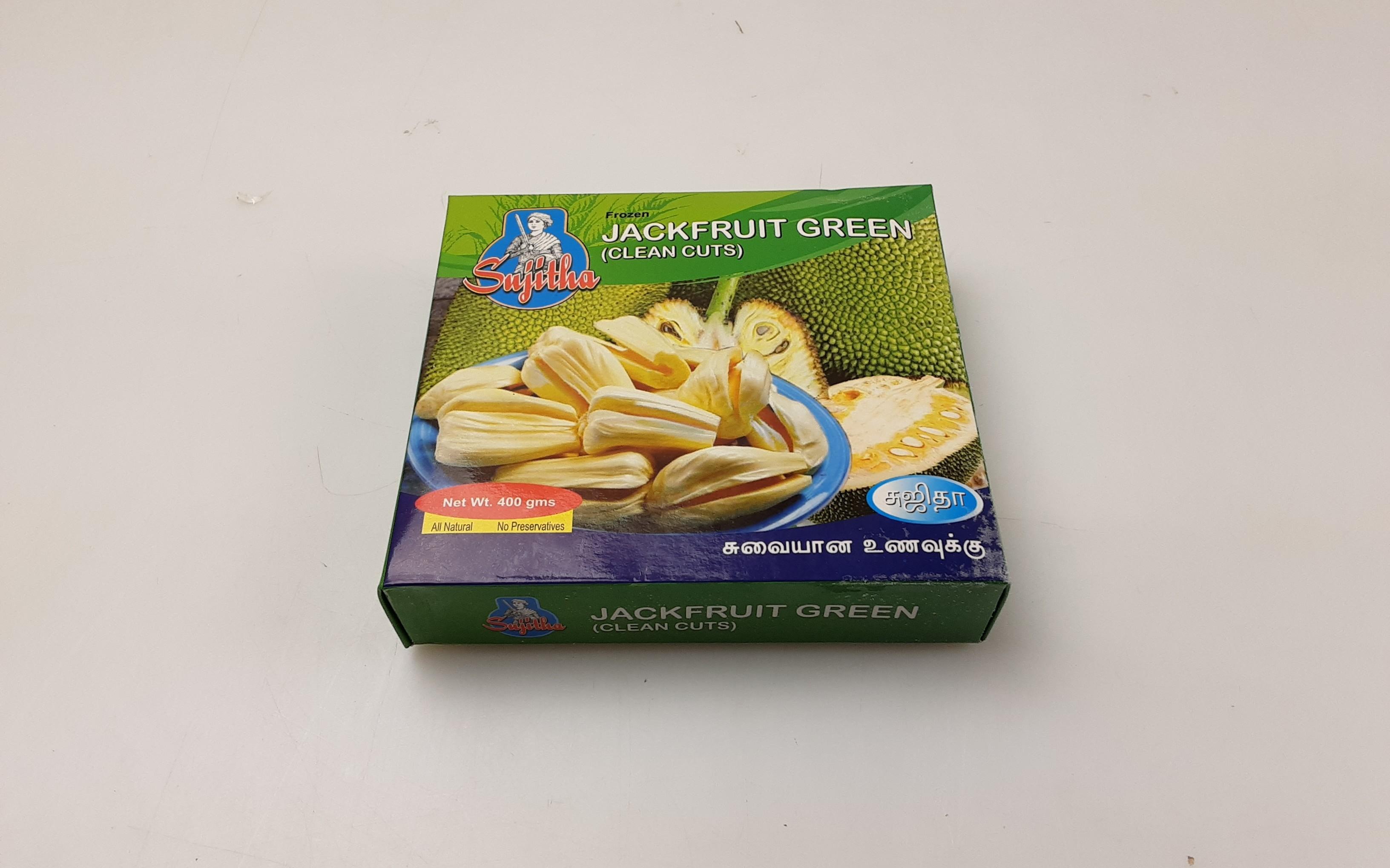 Sujitha Green Jackfruit Clean Cuts 18 x 400 g -IN