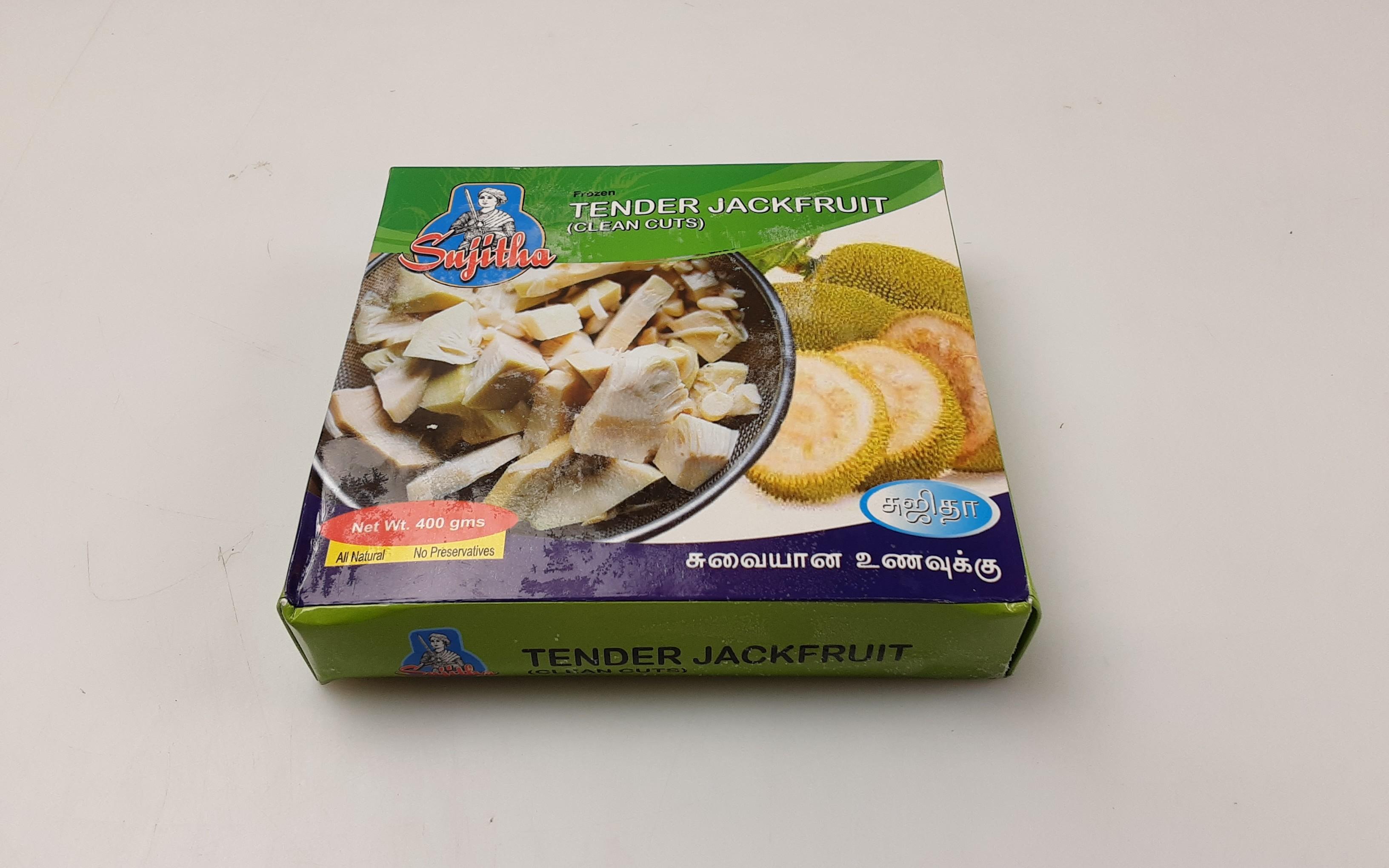 Sujitha Tender Green Jackfruit Clean Cuts 18 x 400 g -IN