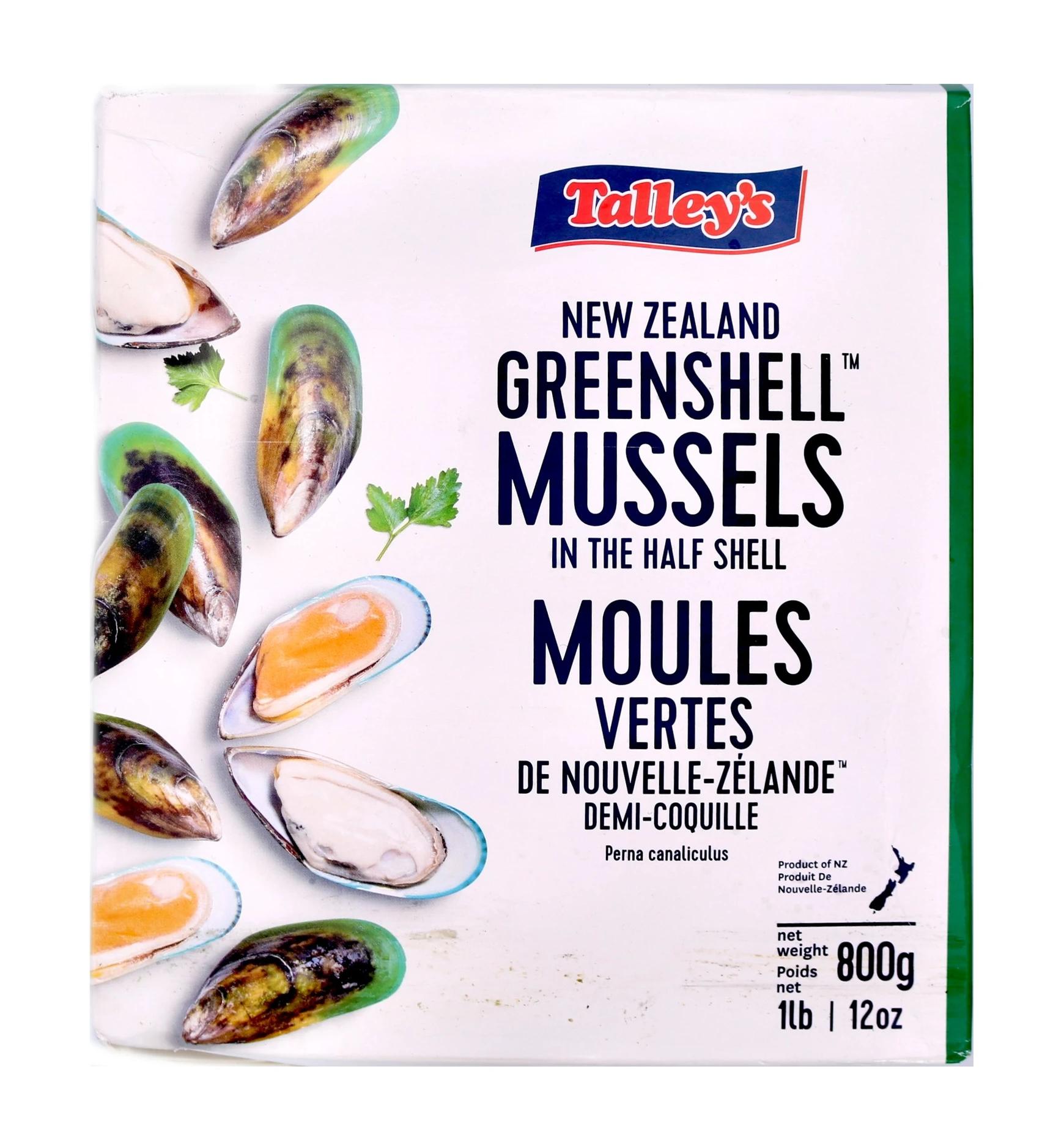 Mussels halfshell large 20/30 12 x 800 g 0%-NZ