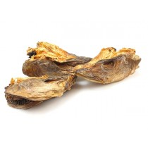 Codfish Heads  Dried -Gadus morhua-  30 kg bale - NO