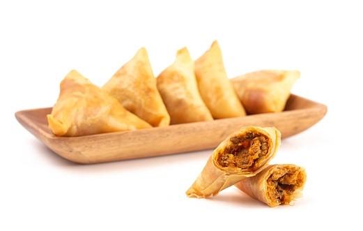 VivAsie Curry Trigons / Tsingtao Samosa 10 x 80 x12.5 gr-CN